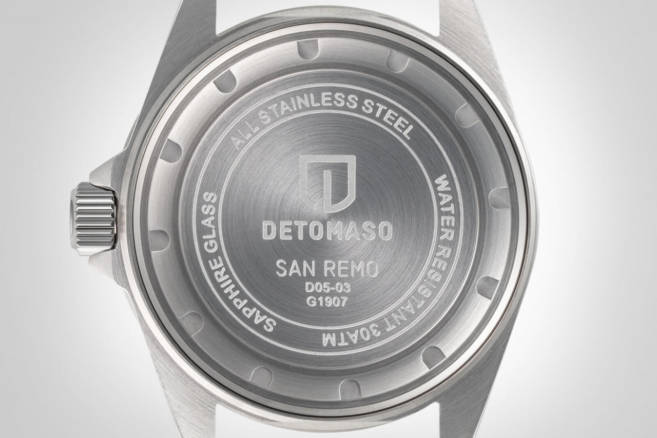 SAN REMO DIVER AUTOMATIC BLUE - STAINLESS STEEL BR