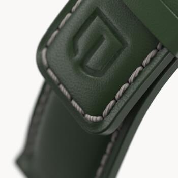 Leder grün Classic